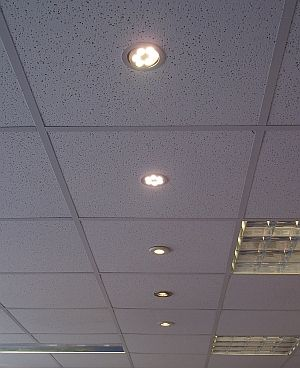 Replaced Shop Lights with super bright LEDs
